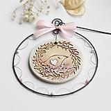 Dekorácie - v hniezde - jarná dekorácia - 12967233_