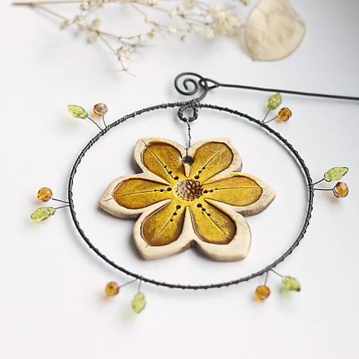 Dekorácie - jarný kvet II - 12966506_