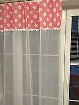 Úžitkový textil - Záclony +3 vankúše - 12969594_