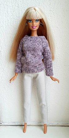 Hračky - Elegantné nohavice pre Barbie - 12969953_