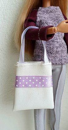 Hračky - Koženková kabelka pre Barbie - 12969962_