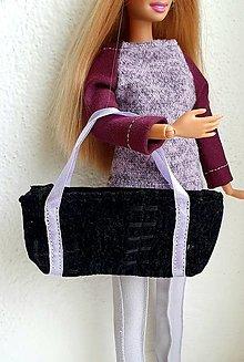 Hračky - Veľká cestovná taška pre Barbie - 12970016_