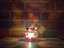 Svietidlá a sviečky - Svietnik - Včelí plast - 12969699_