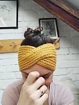 Ozdoby do vlasov - Čelenka vlnená - 12967125_
