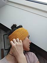 Ozdoby do vlasov - Čelenka vlnená - 12967127_
