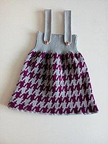 Detské oblečenie - Detská pletená sukňa - 12967619_