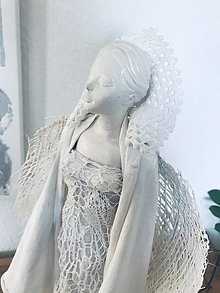 Socha - Biely anjel - 12966219_