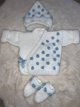 Detské oblečenie - Set sveter čiapka ponožky - 12968546_
