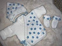 Detské oblečenie - Set sveter čiapka ponožky - 12968547_