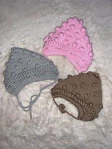 Detské čiapky - Čiapka - čepiec - 12968579_