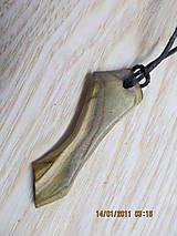Náhrdelníky - prívesok--Sumach - 12971515_