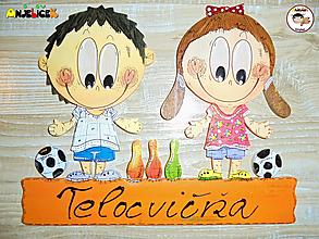 Tabuľky - Menovka - dvojica - 12972823_
