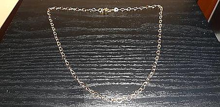 Náhrdelníky - Srdiečkový náhrdelník 24k Au - 12972350_
