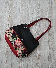 Kabelky - Dámska taška Guadeluppe kvetinová - 12974452_