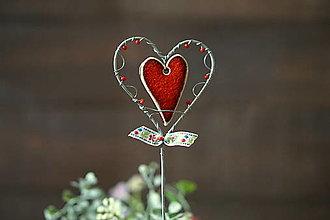Dekorácie - valentínka - 12971296_