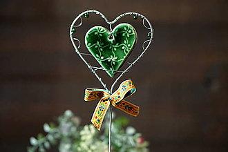 Dekorácie - srdce plné nádeje - 12971312_