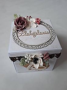 Papiernictvo - Svadobné blahoželanie - 12974080_