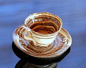 Nádoby - Keramická šálka na espresso 50ml-70ml - 12976495_