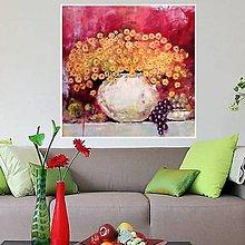Obrazy - Zátišie so žltými kvetmi - 12976341_