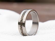 Prstene - Prsteň bronzová & Titan - 12976394_