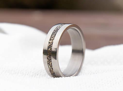 Prsteň bronzová & Titan