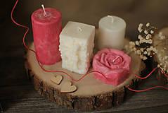 Svietidlá a sviečky - Žiarivá darčeková krabička - 12977805_