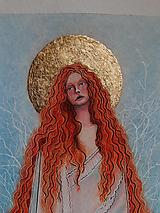 Kresby - Zimná víla - 12976048_