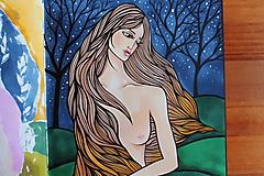 Kresby - Ženskosť II. - originál - 12977184_