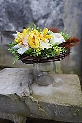 Dekorácie - Jarná dekorácia - 12978018_