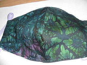 Rúška - Bavlnené rúško dvojvrstvové -znížená cena y 3,80 na 2 eurá - 12976138_