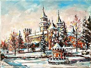 Obrazy - Zimné Bojnice - 12975346_
