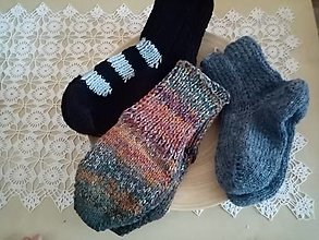 Obuv - Ponožky na nôžky - 12977526_