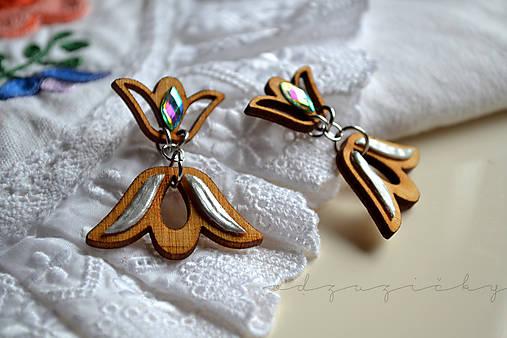 Tulipániková Agátka  (sivá perla)