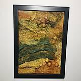 """Obrázky - Plstený obraz """"búrka nad Jupiterom"""" - 12976824_"""
