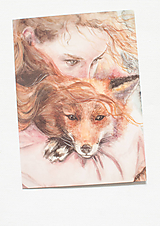 """Papiernictvo - Pohľadnica """"FoxLove"""" - 12975320_"""