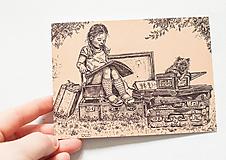 "Papiernictvo - Pohľadnica ""Reading"" - 12975329_"