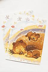 """Papiernictvo - Pohľadnica """"bear mum"""" - 12976807_"""
