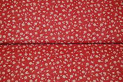 Textil - metráž kvietky - 12977290_