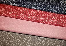 Textil - metráž kvietky - 12977292_