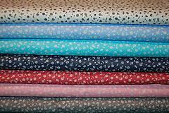 Textil - metráž kvietky - 12977295_