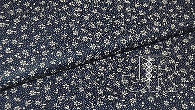Textil - metráž kvietky - 12977334_