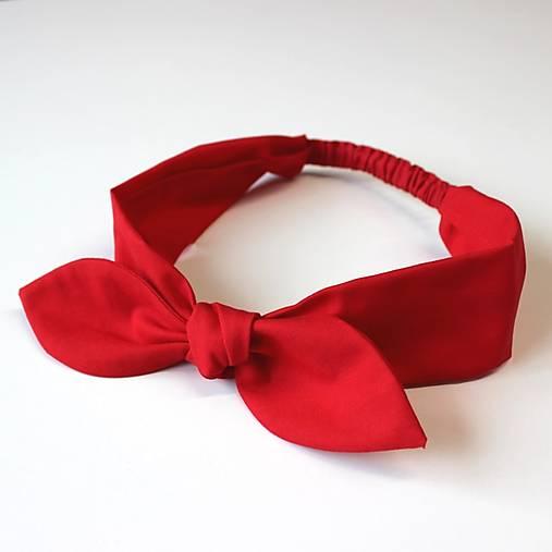 čelenka pin-up červená