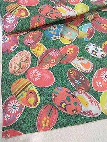 Úžitkový textil - Obrus vajíčka na tráve - 12980331_