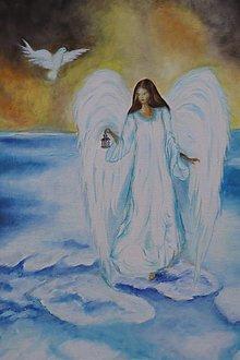 Obrazy - Anjel, nepredajný - 12982065_