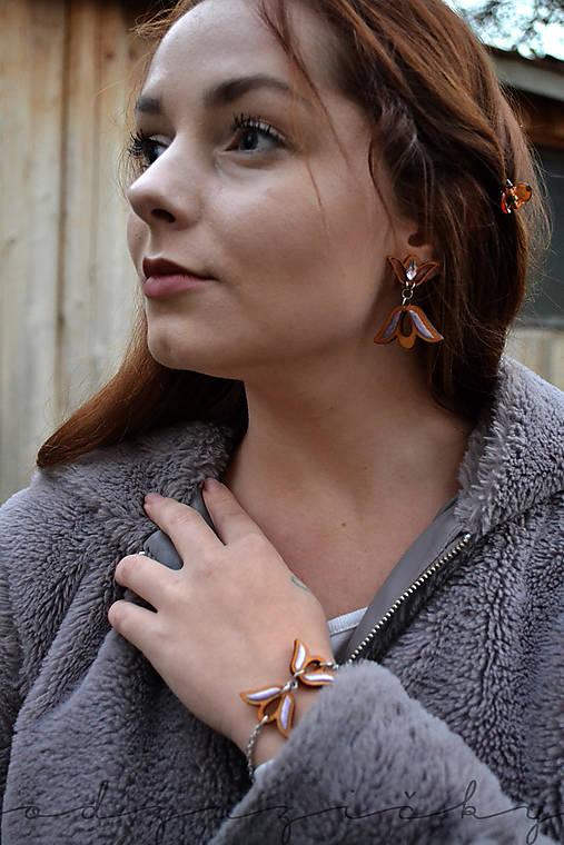 Tulipániková Agátka  (levanduľková perla)