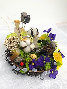 Dekorácie - Kvetinová dekorácia - 12981773_