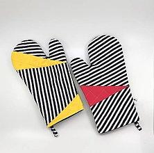 Úžitkový textil - Párik veselých chňapiek - 12979899_