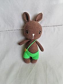 Hračky - Háčkovaný zajačik - 12985504_