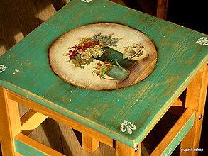 Nábytok - Stolček, stolička - 12988905_