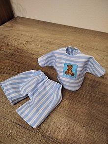 Hračky - Pyžamko pre bábiku - 12989072_